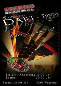 E-Darts-Turnier @ UNDERGROUND Kneipe