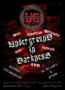 UNDERGROUND in Darkness @ UNDERGROUND Event-Floor
