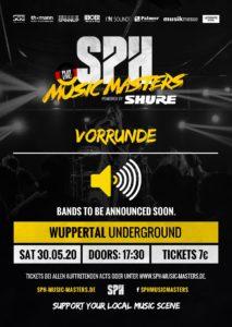 SPH Music Masters Vorrunde Wuppertal @ UNDERGROUND Event-Floor