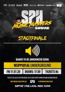 SPH Music Masters Stadtfinale Wuppertal @ UNDERGROUND Event-Floor