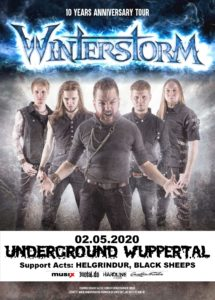 live: Winterstorm, Helgrindur, Black Sheeps @ UNDERGROUND Event-Floor