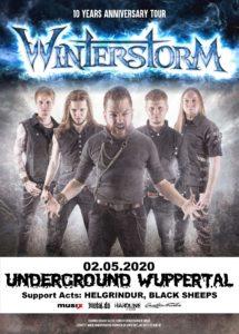 Winterstorm, Helgrindur, Black Sheeps (wird vermutlich verschoben!) @ UNDERGROUND Event-Floor
