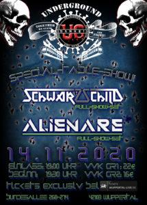 live: Alienare & Schwarzschild @ UNDERGROUND Event-Floor