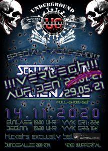 live: Alienare & Schwarzschild - verschoben! @ UNDERGROUND Event-Floor