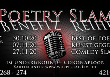 Poetry Slam Benefiz-Reihe Teil 1: Best of Poetry Slam
