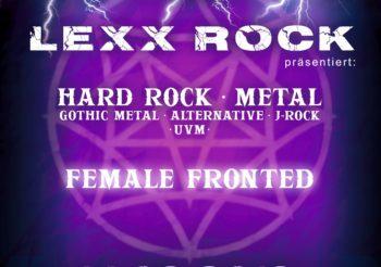 Lexx Rock: Female Fronted